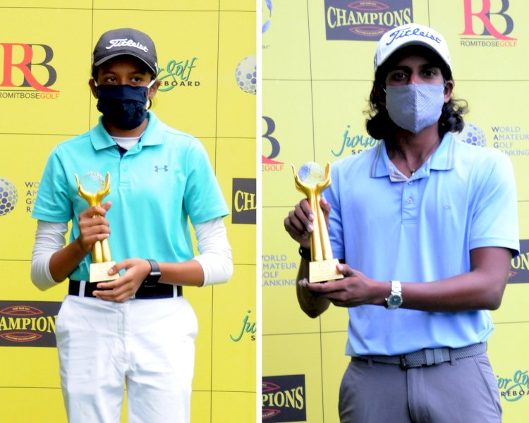 Akshay, Avani grab Amateur titles at Champions Golf