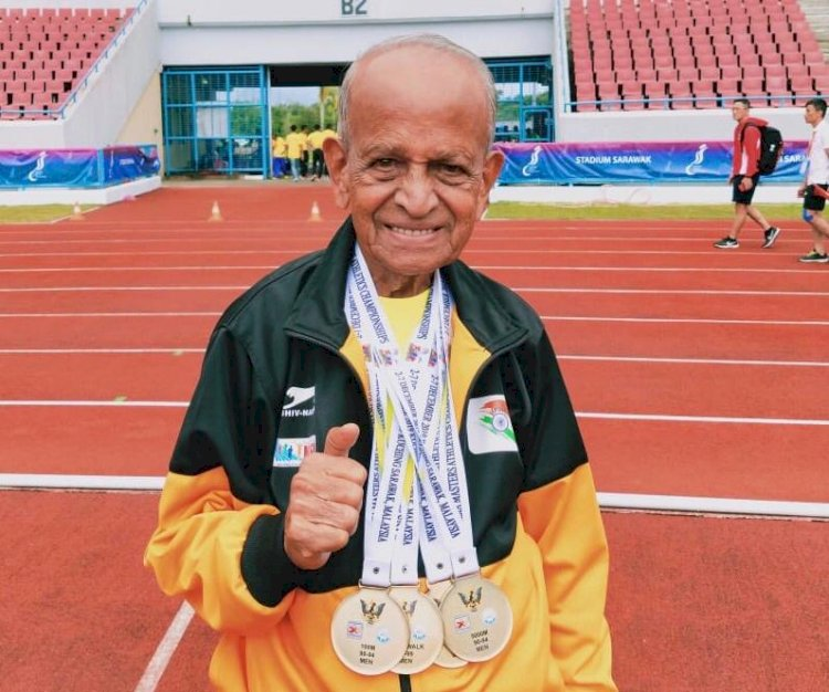 """""""I want to be a role model for young people"""", says TCS World 10K 92-year-old runner"""