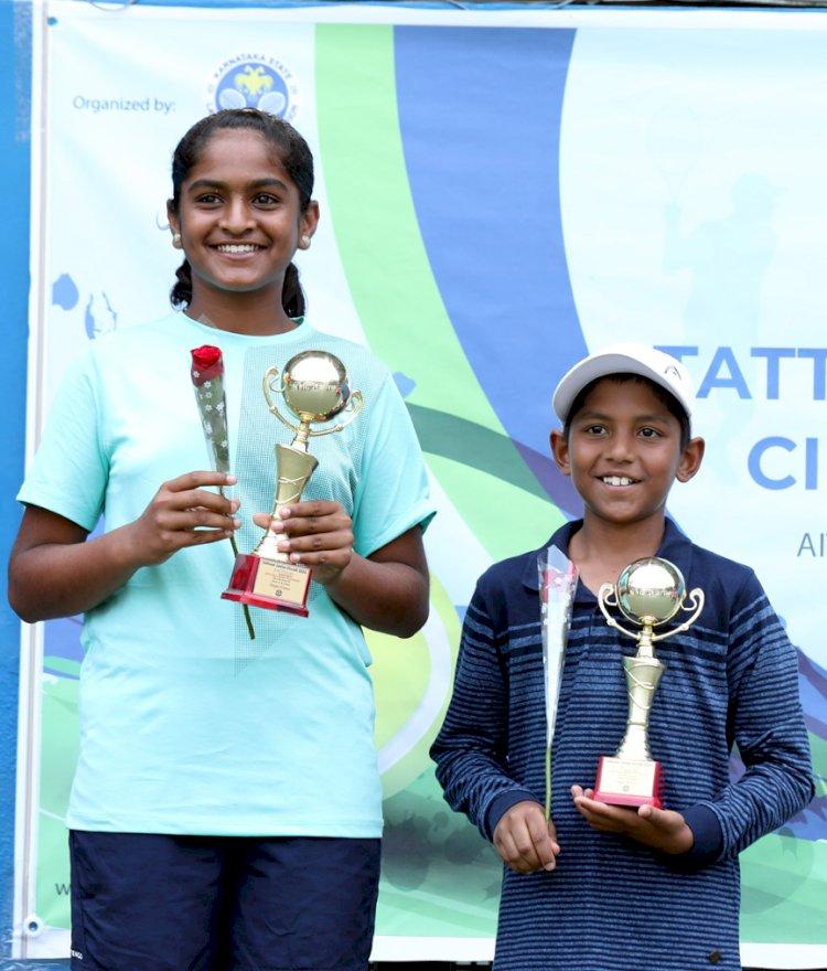 Fazal, Kashvi emerge champs at KSLTA U-12 Talent Series