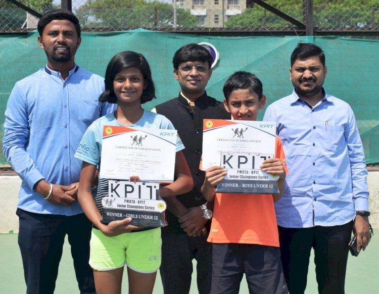 Deshmukh, Hood clinch titles at PMDTA-KPIT Junior Tennis