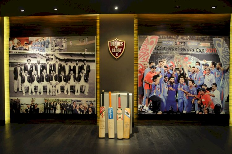 Pune-based Blades of Glory sets a world record for being the Largest Cricket Museum in the world