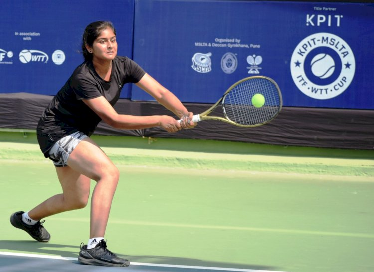 Six Indians qualify for Main draw at $ 25000 KPIT –MSLTA  ITF WTT Cup tennis championships